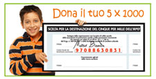 Dona il tuo 5x1000 all'Antoniano Cristo Re